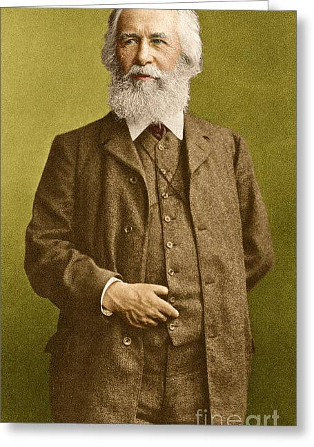 Ernst Haeckel, German Biologist Greeting Card by Science Source