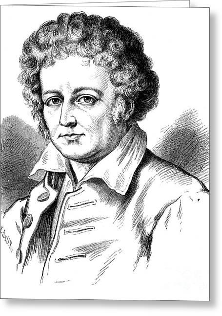 Esaias Tegner (1782-1846) Greeting Card by Granger