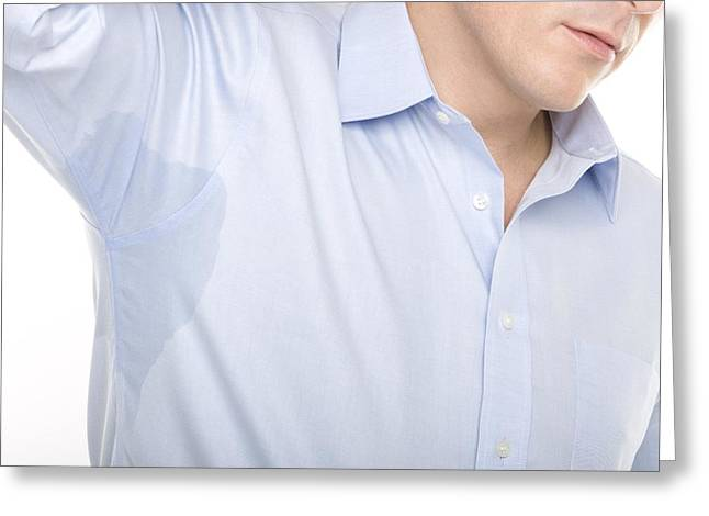 Excessive Sweating Greeting Card