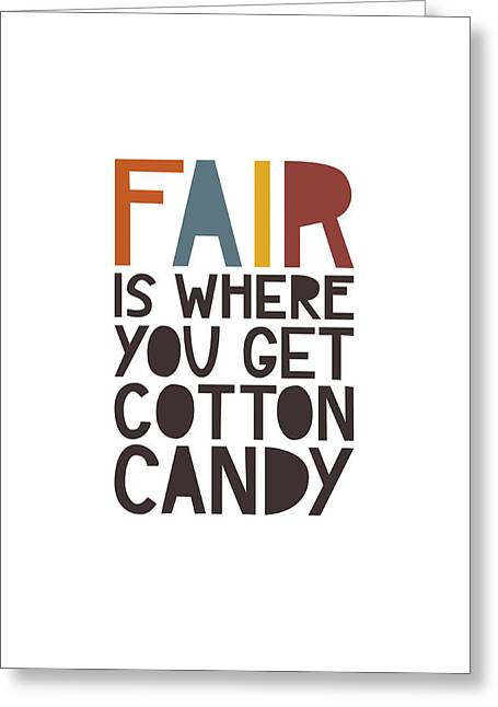 Fair Greeting Card by Megan Romo