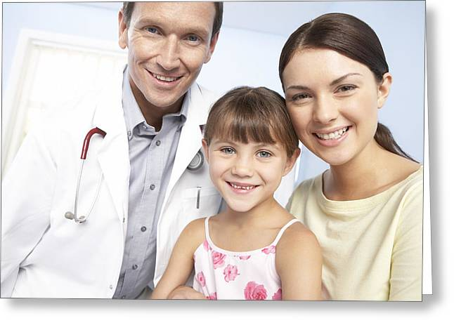 Family Doctor Greeting Card