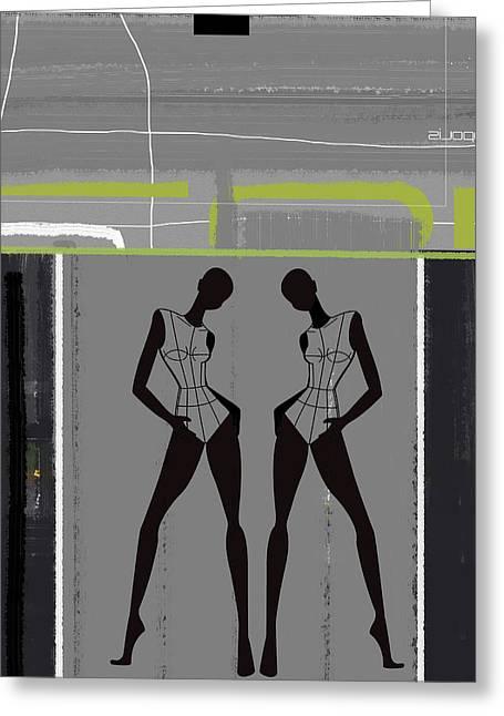 Fashion Dance Greeting Card