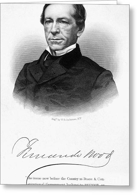 Fernando Wood (1812-1881) Greeting Card by Granger