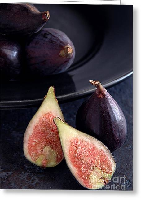 Figs Greeting Card by HD Connelly