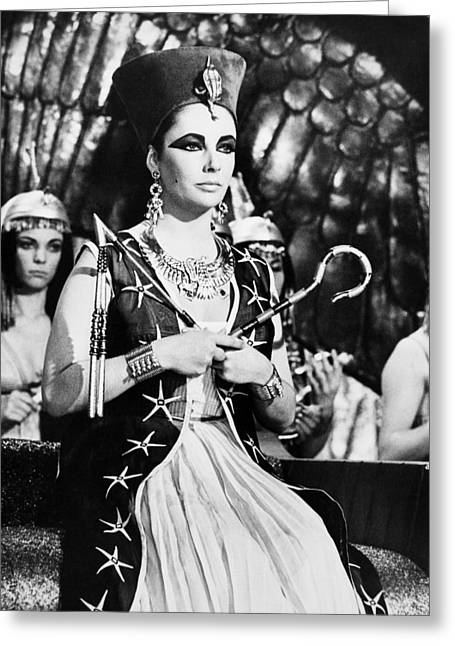 Film: Cleopatra, 1963 Greeting Card by Granger
