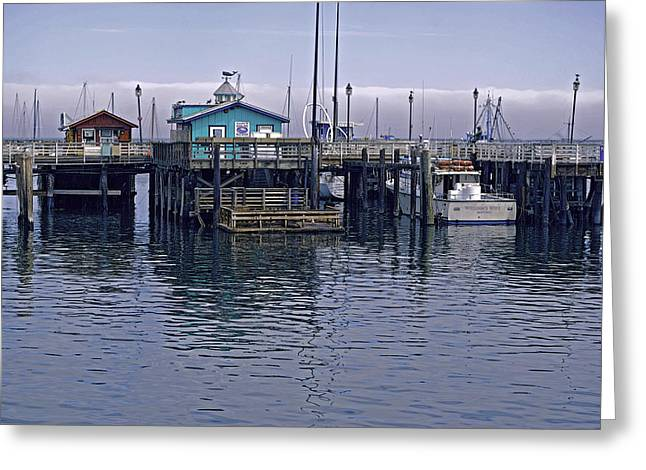 Fishermans Warf Monterey Greeting Card