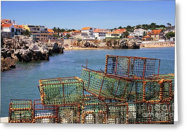 Fishing Traps Greeting Card