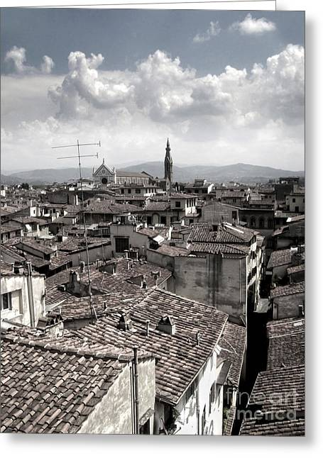 Florence Italy - 02 Greeting Card by Gregory Dyer