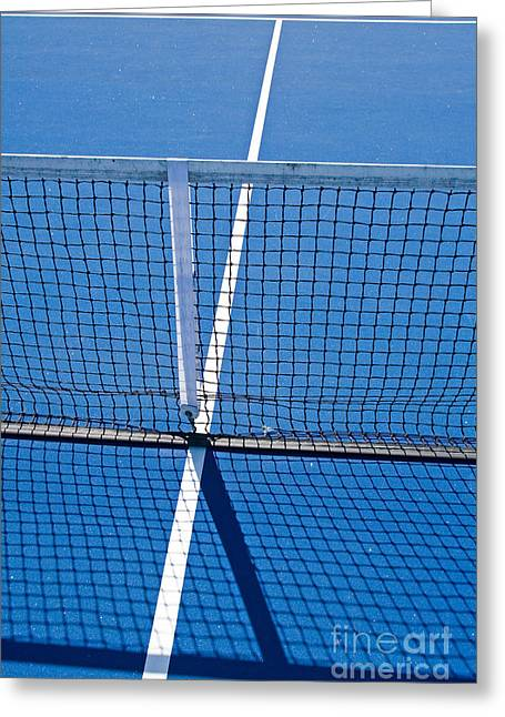 Florida Gold Coast Resort Tennis Club Greeting Card