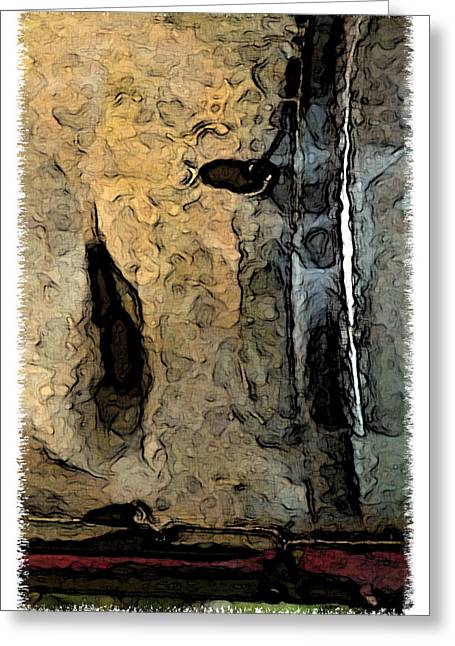 Fossilties Greeting Card by Brenda Leedy