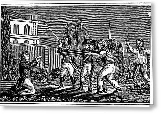France: Persecution, 1815 Greeting Card