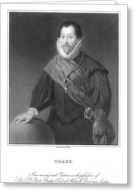 Francis Drake (1540?-1596) Greeting Card by Granger