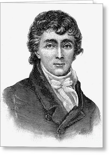 Francis Scott Key Greeting Card by Granger
