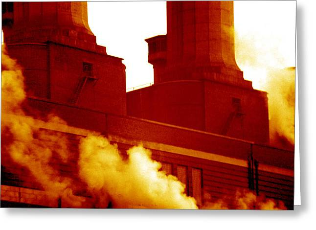 Fulham Power Station Greeting Card