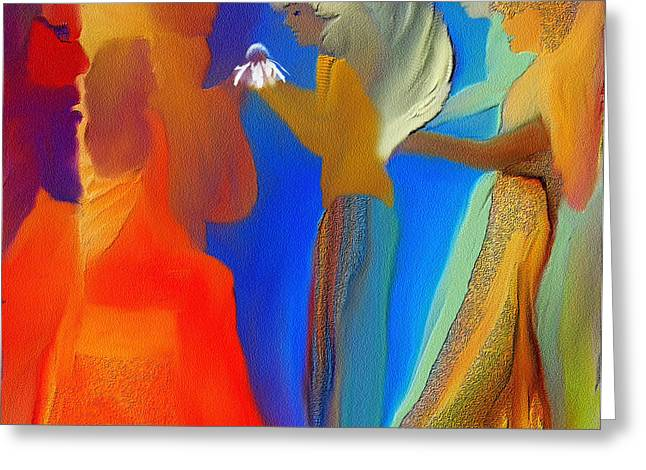 Gathering Of Angels Greeting Card by Sherri's Of Palm Springs