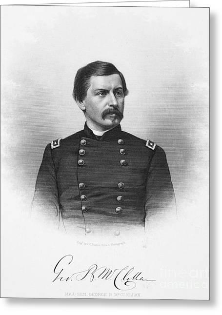 George Brinton Mcclellan Greeting Card