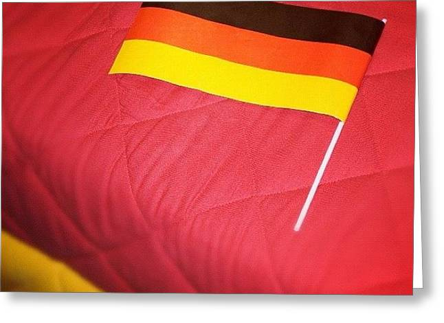 German Flag And Colors Greeting Card