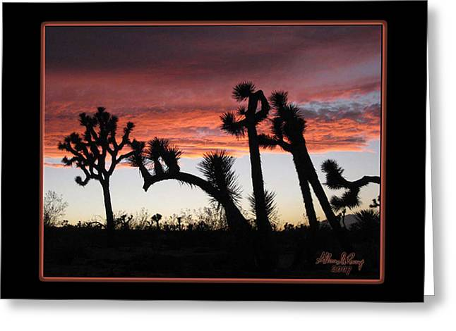 Giants Of Joshua Tree Greeting Card