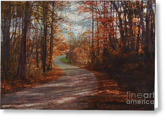 Gibson Ridge Road Greeting Card