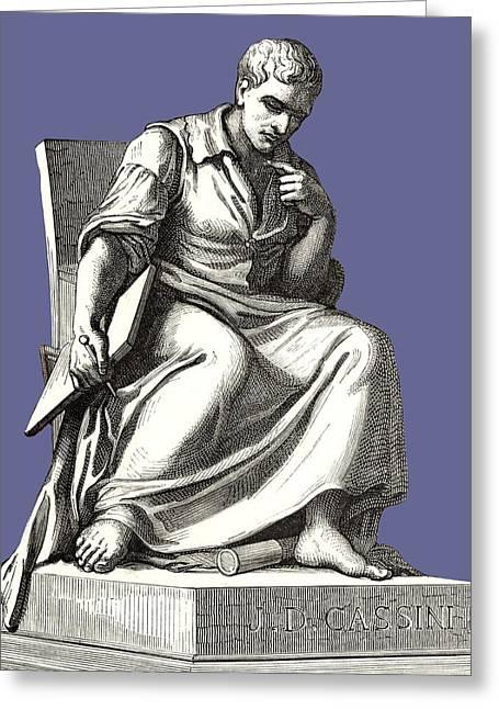 Giovanni Cassini, Italian Astronomer Greeting Card by Sheila Terry