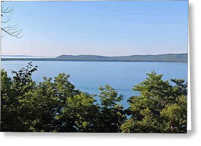 Glen Lake From Inspiration Point Greeting Card