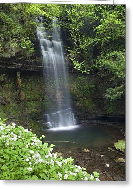 Glencar Waterfall, Co Sligo, Ireland Greeting Card