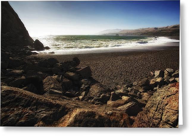 Goat Rock Beach Greeting Card