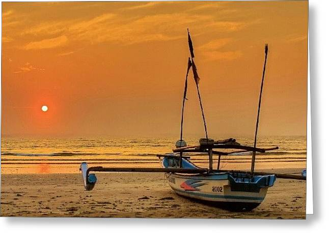 Good Morning #sunrise Greeting Card by Tommy Tjahjono