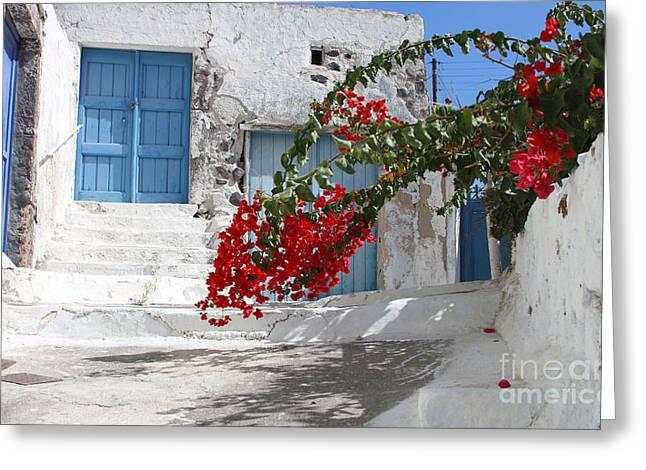 Greece Greeting Card by Milena Boeva