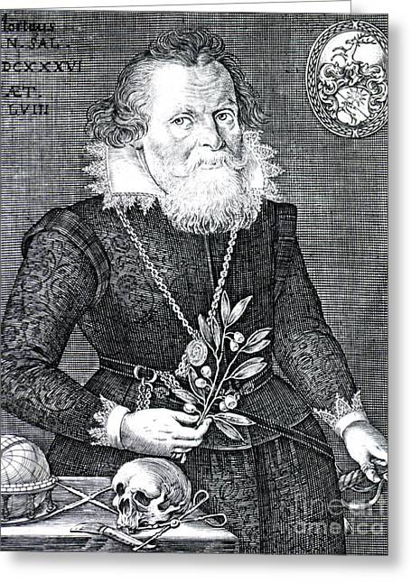 Gregor Horstius, German Physician Greeting Card by Science Source