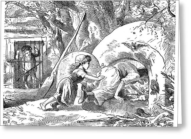 Grimm: Hansel And Gretel Greeting Card by Granger