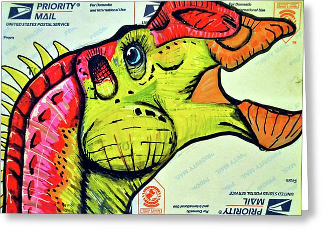 Gryposaurus Greeting Card
