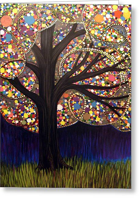 Gumball Tree 00053 Greeting Card