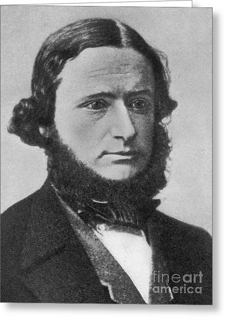 Gustav Kirchhoff, German Physicist Greeting Card by Science Source