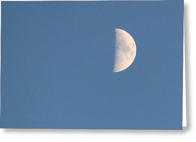 Half Moon Rising Greeting Card