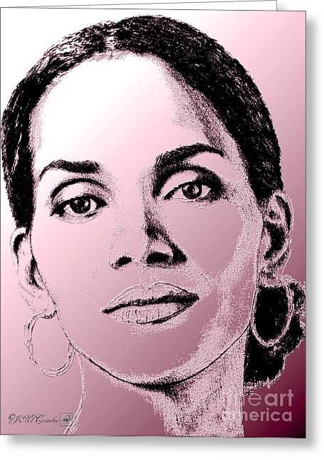 Halle Berry In 2008 Greeting Card