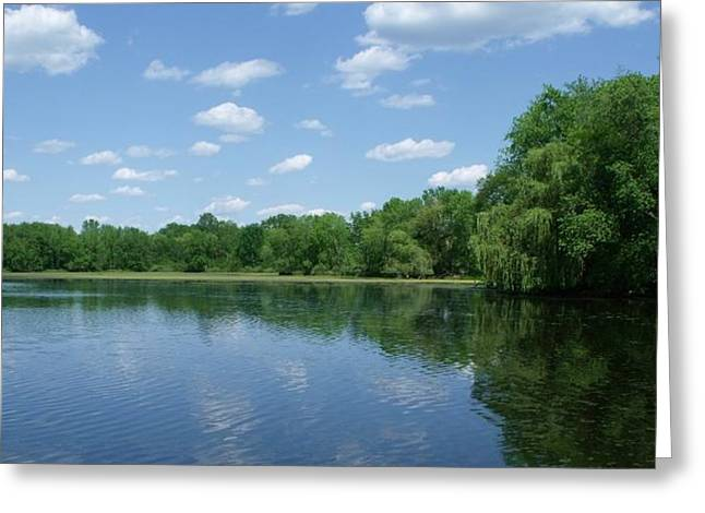 Harris Pond Greeting Card