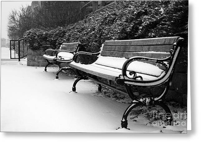 Have A Seat Greeting Card by Joel Witmeyer