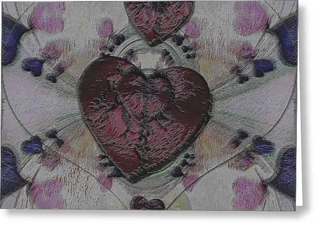 Heart Strikers Greeting Card