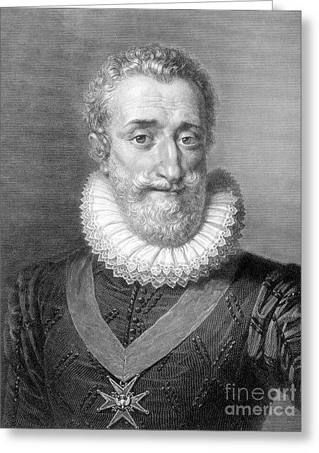 Henry Iv (1553-1610) Greeting Card by Granger