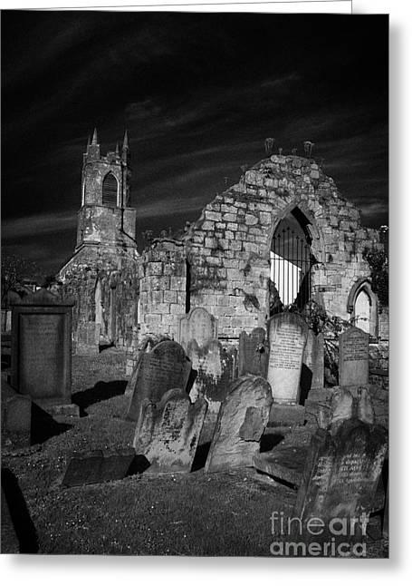 Holywood Priory County Down Northern Ireland Greeting Card by Joe Fox