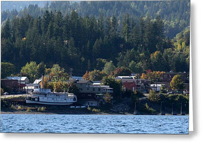 Greeting Card featuring the photograph Home Sweet Kaslo by Cathie Douglas