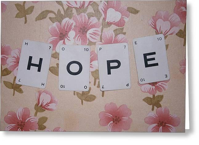 Hope Greeting Card by Georgia Fowler