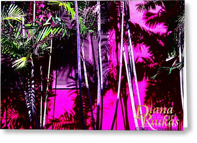 Greeting Card featuring the photograph Hot Caribbean Day by Diana Riukas