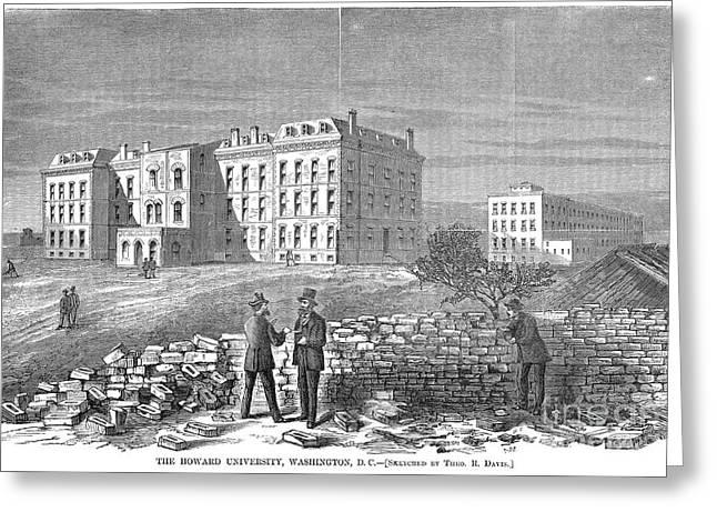 Howard University, 1869 Greeting Card by Granger