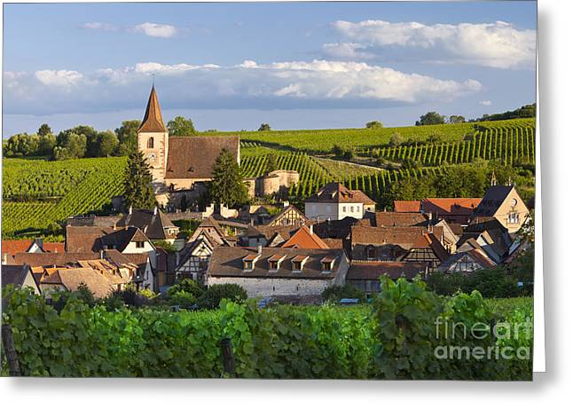 Hunawihr Alsace Greeting Card
