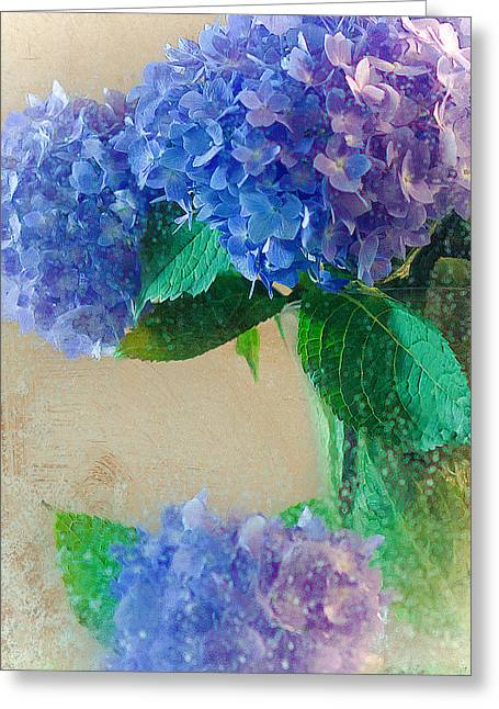 Greeting Card featuring the photograph Hydrangea by Anna Rumiantseva