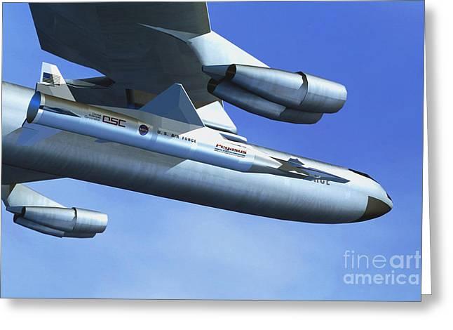 Hyper-x Hypersonic Aircraft Greeting Card
