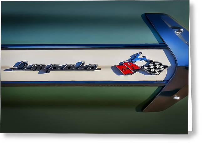 Impala Brightwork Greeting Card by Douglas Pittman