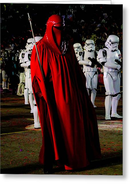 Imperial Red Guard Greeting Card